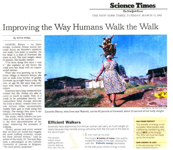 Improving the Way Humans Walk