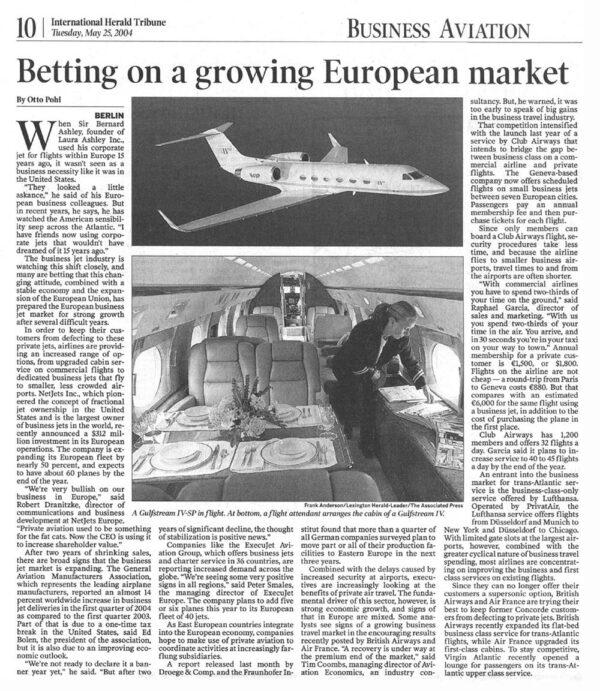 Betting on a growing European market