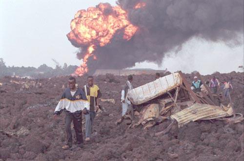 Goma: A Volcano Explodes